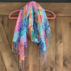 🌺EUC Lilly Pulitzer Electric Feel Murfee Scarf🌺